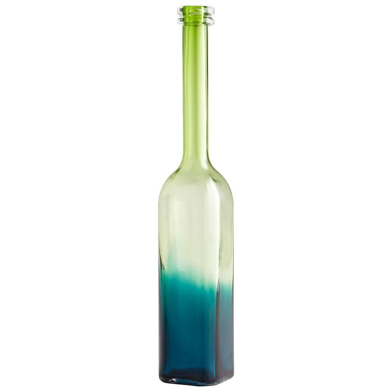 Cyan Design Large Apothecary Dream Vase Apothecary Dream 20 Inch Tall Glass Vase Green and Blue Home Decor Accents Vases