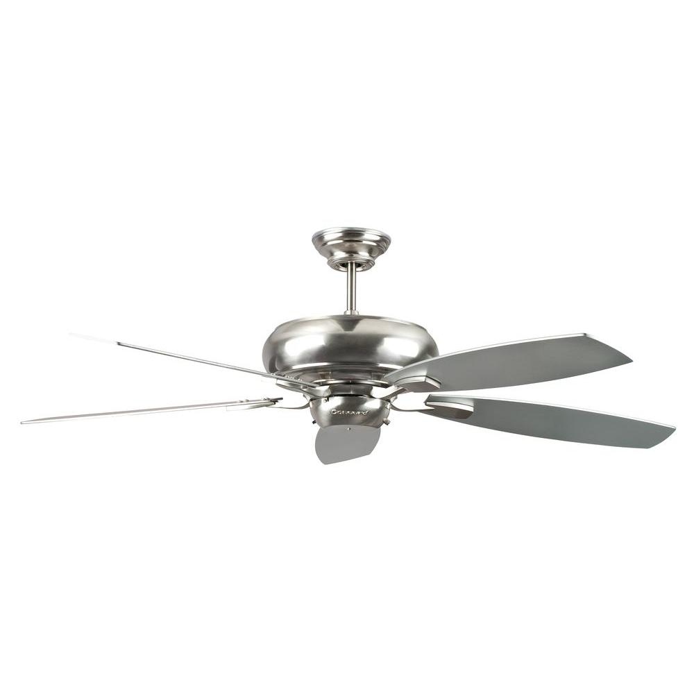 Concord Fans Roosevelt Series 60 in. Indoor Stainless Steel Ceiling ...