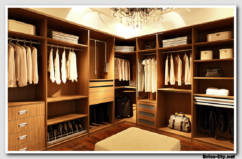 Walk in closet dise os modernos ideas para decorar y for Disenos de armarios de madera