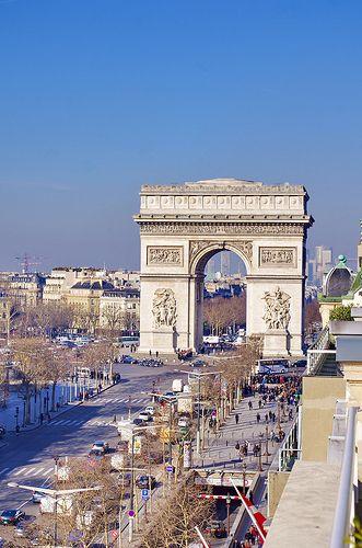 Paris Vu Depuis Le N 136 Avenue Des Champs Elysees 2 Avenue Des Champs Elysees Champs Elysees Paris France