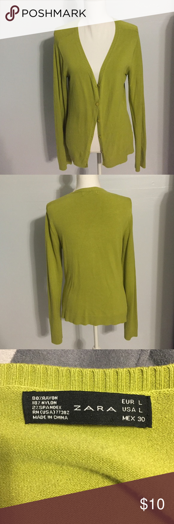 Zara light green cardigan | Sweater cardigan, Cardigans and Zara