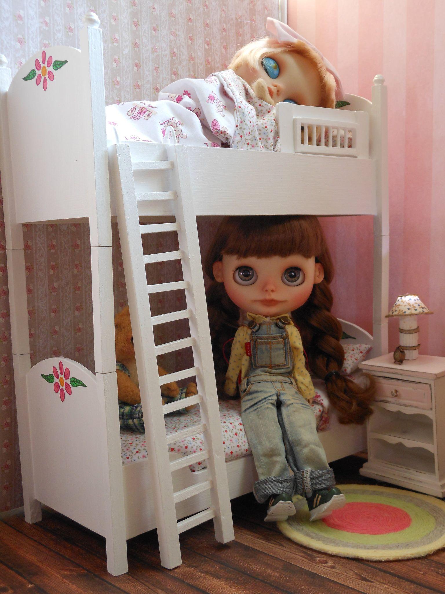 Detachable Twin Berth Scale 16 Doll Blythe Pullip Dal Momoko