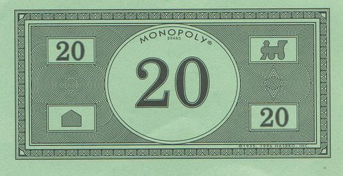 Monopoly money new design 20 by eli the bearded via for Monopoly money templates