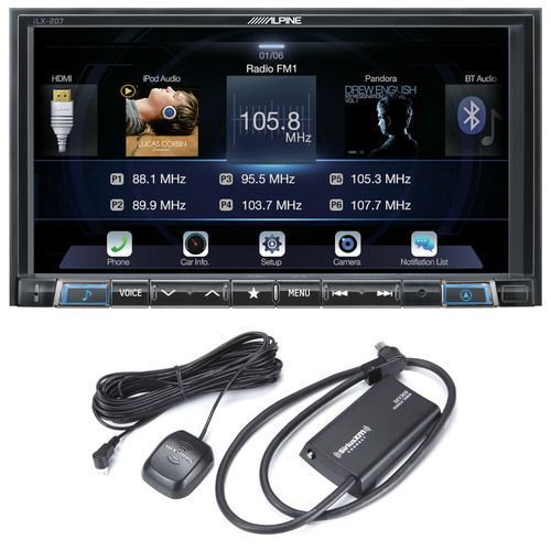 Alpine ILX207SXM 7Inch Mechless compatible with Car
