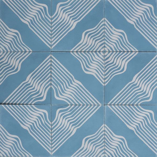 Cuban Tile Floor - enter for your chance to win a $2,500 gift certificate at www.traditionalhome.com/ethanallen
