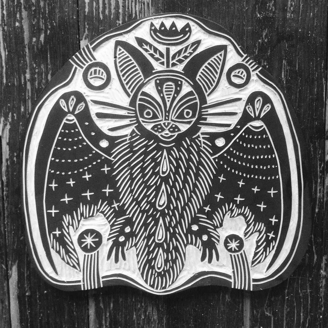 Austin tattoo convention bat by bryn perrott