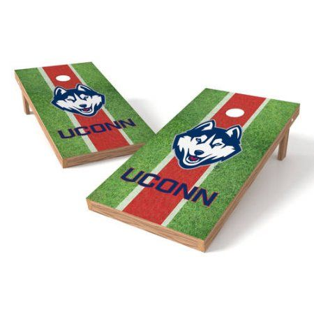 Wild Sports Collegiate Wyoming Shield 2x4 Field Grass Tailgate Toss XL Game