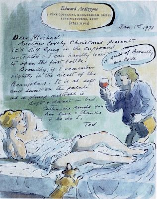Mike Lynch Cartoons: SKETCHES FOR FRIENDS Edward Ardizzone