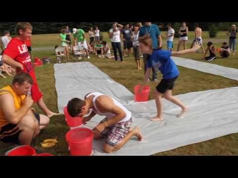 Camp Water Games - Round 2 - YouTube | Juegos para jardín ...