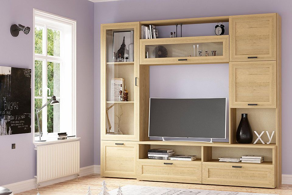 Tecnos Wohnwand (5-tlg) Elisabeth Jetzt bestellen unter   - schrank für wohnzimmer