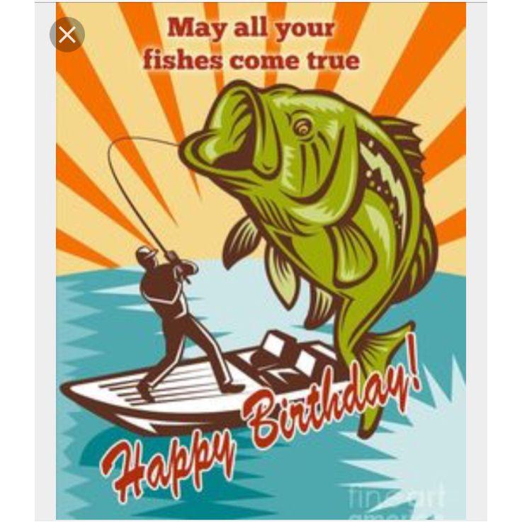 Fishing Rod Happy Birthday Meme