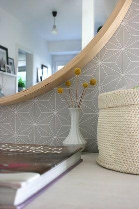 Die Schonsten Einrichtungsideen Fur Deinen Flur Ikea Tapete Schoner Wohnen Tapeten Ikea