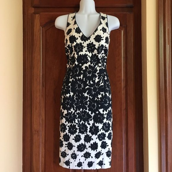 Ann Taylor dress BRAND NEW with tag. Fully lined.  Shell: 98% cotton, 2% spandex Lining: 100% polyester. FINAL SALE ! Ann Taylor Dresses