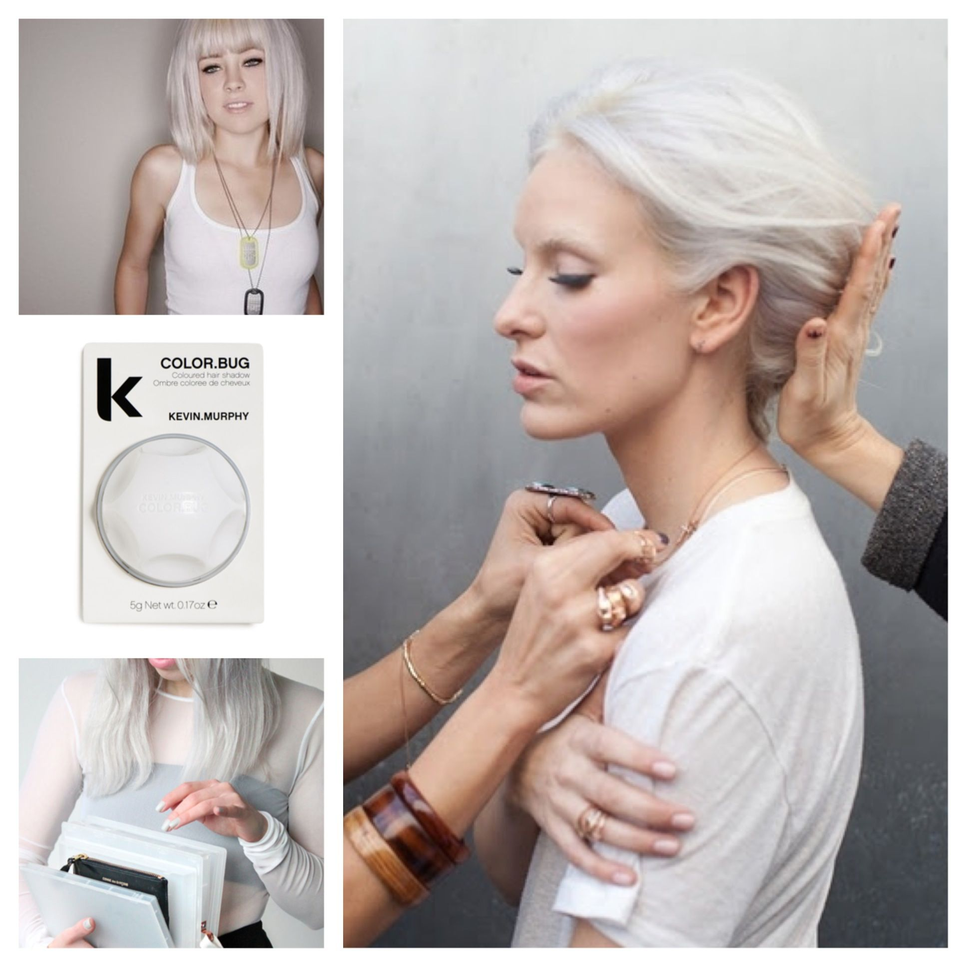 kevin murphy color bug in white a great way to take your blonde to - Kevin Murphy Color Bug