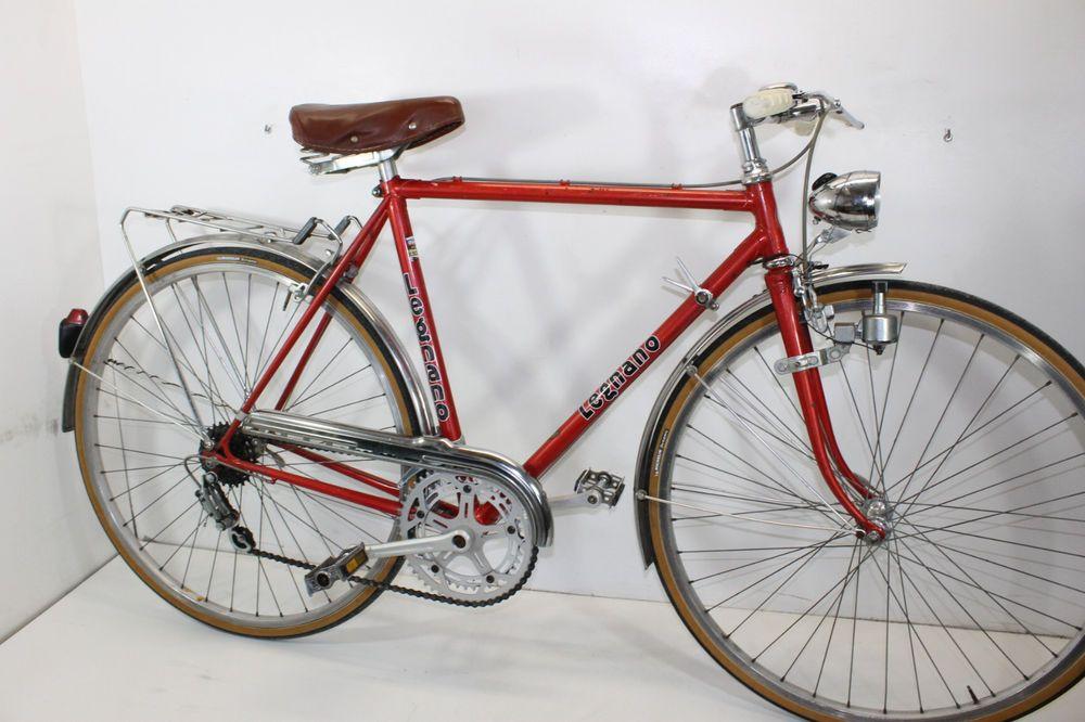 Legnano Sport Condorino Bici Sportiva Vintage Campagnolo Bike 26