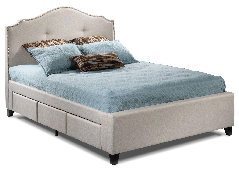 Bedroom Furniture Queen Storage Bed leons bedroom furniture-keaton queen storage bed $1299 | house
