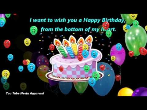 Happy Birthday Wishes With BlessingsPrayers MessagesQuotes – You Tube Birthday Greetings
