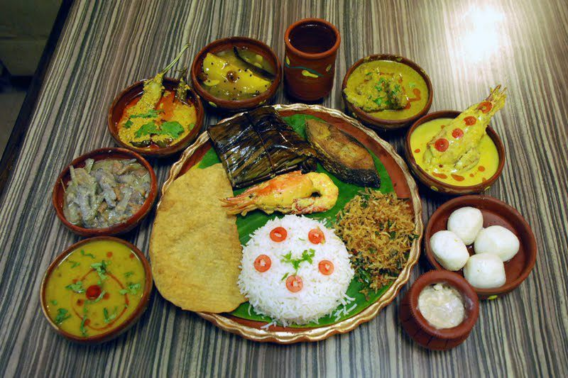 A Bengali Meal Yes Lots Of Fish Daal Rice Fry Vegetables