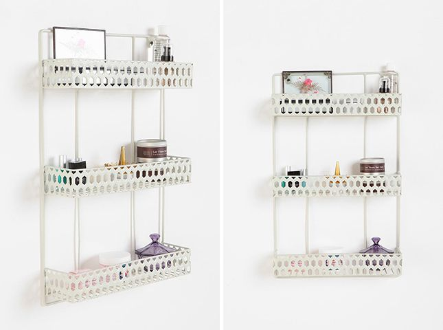 Triple Decker Shelf ($34): If you want three shelves for the price of one, consider this tiered version. We think it would be great for a little extra storage in the bathroom.