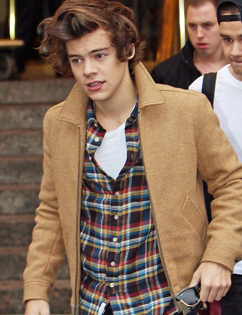 His. Hair. Oh. My. God.