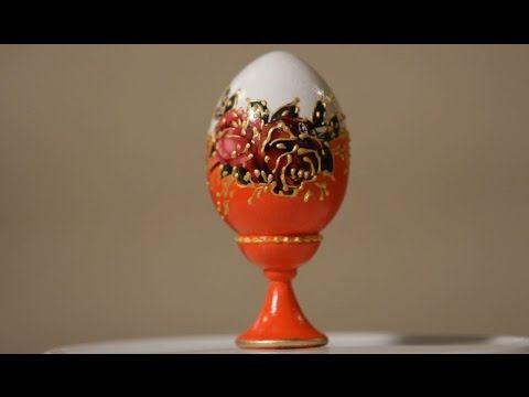 """Декорирование пасхального яйца - Видео """"Декупаж-копилка"""" - Полезное видео - Декупаж - """"Всё о декупаже"""" - ProDecoupage.com"""