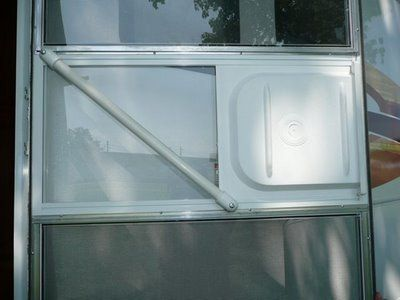 Make This Easy To Close Rv Screen Door Modification