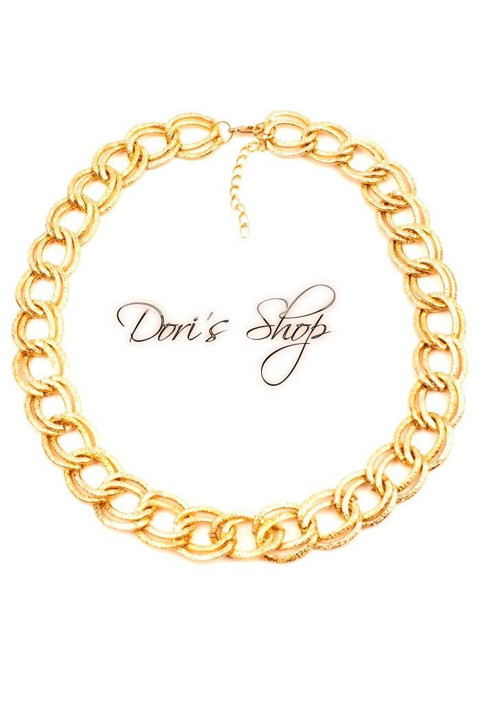 543442c284 Bizsu nyaklánc arany színű | Bizsuk-Bijou | Bracelets, Jewelry és Gold