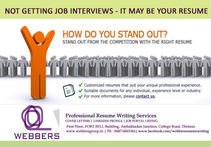 Webbers Group (resumethrissur) on Pinterest - resume building services