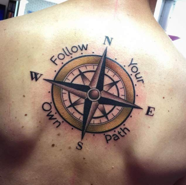 42 Friggin Amazing Compass Tattoos | Black and Gray Tattoos ...