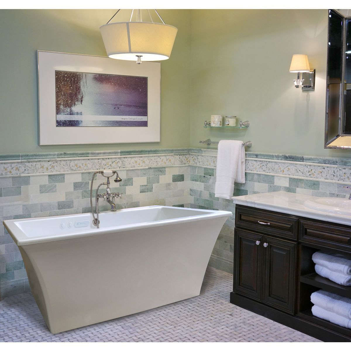 Reward Freestanding Whirlpool & Air Bath Tub | Whirlpool Bathtub ...