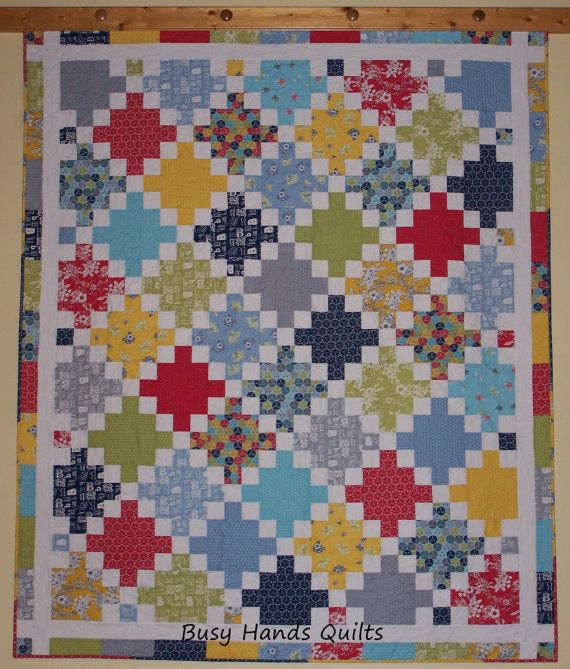 CLEARANCE Twisted Irish Chain Lap Quilt in Bee by BusyHandsQuilts ... : irish chain quilt for sale - Adamdwight.com