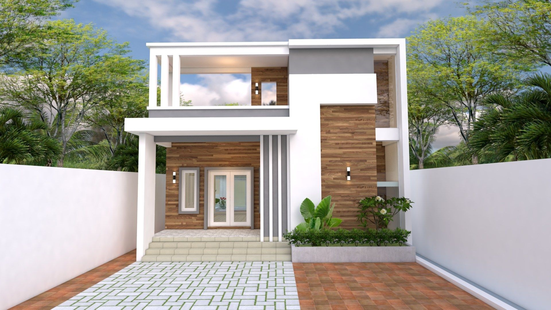 House Design 10 25 With 3 Bedrooms Bungalow House Design Modern Bungalow House House Front Design