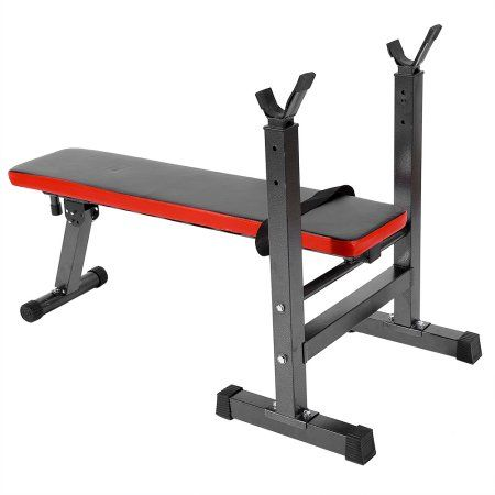 Lbs sit up bench barbell workout shoulder chest press home