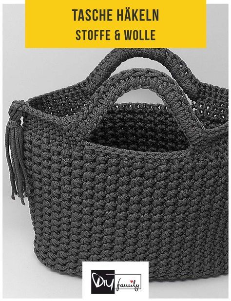 Photo of Bag with star mesh – crochet pattern – DIY family