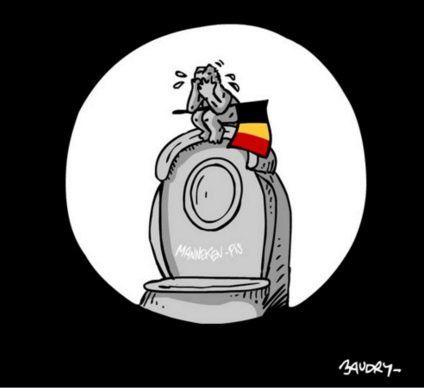 16 dessins touchants qui rendent hommage aux victimes des attentats de Bruxelles