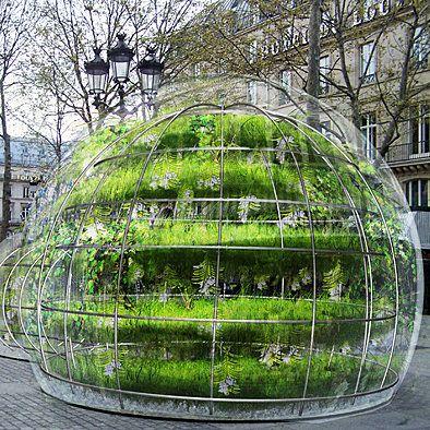 Une Bulle Vegetale En Plein Coeur De Paris Pour Une Pause