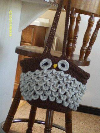 Handmadecrochetbagspatterns Free Handmade Crocheted Owl Purse