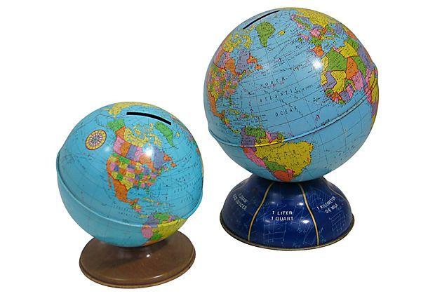Globe Banks, Pair on OneKingsLane.com