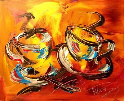 Admirable Coffee Painting Art Painting In 2019 Artwork Abstract Complete Home Design Collection Epsylindsey Bellcom