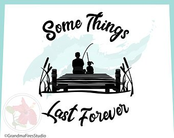 Download Father Fishing Svg Etsy Fathers Day Svg Fishing Pole Svg Father Daughter Bond