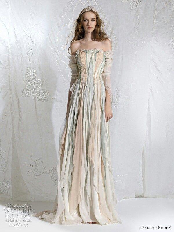 Bohemian Faerie Wedding Dress | costumes everyday ~ fantasy ...