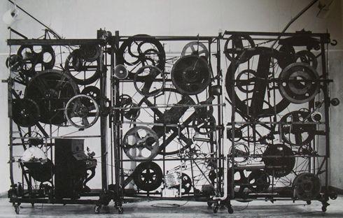 Méta-Harmonie I, Tinguely, 1978