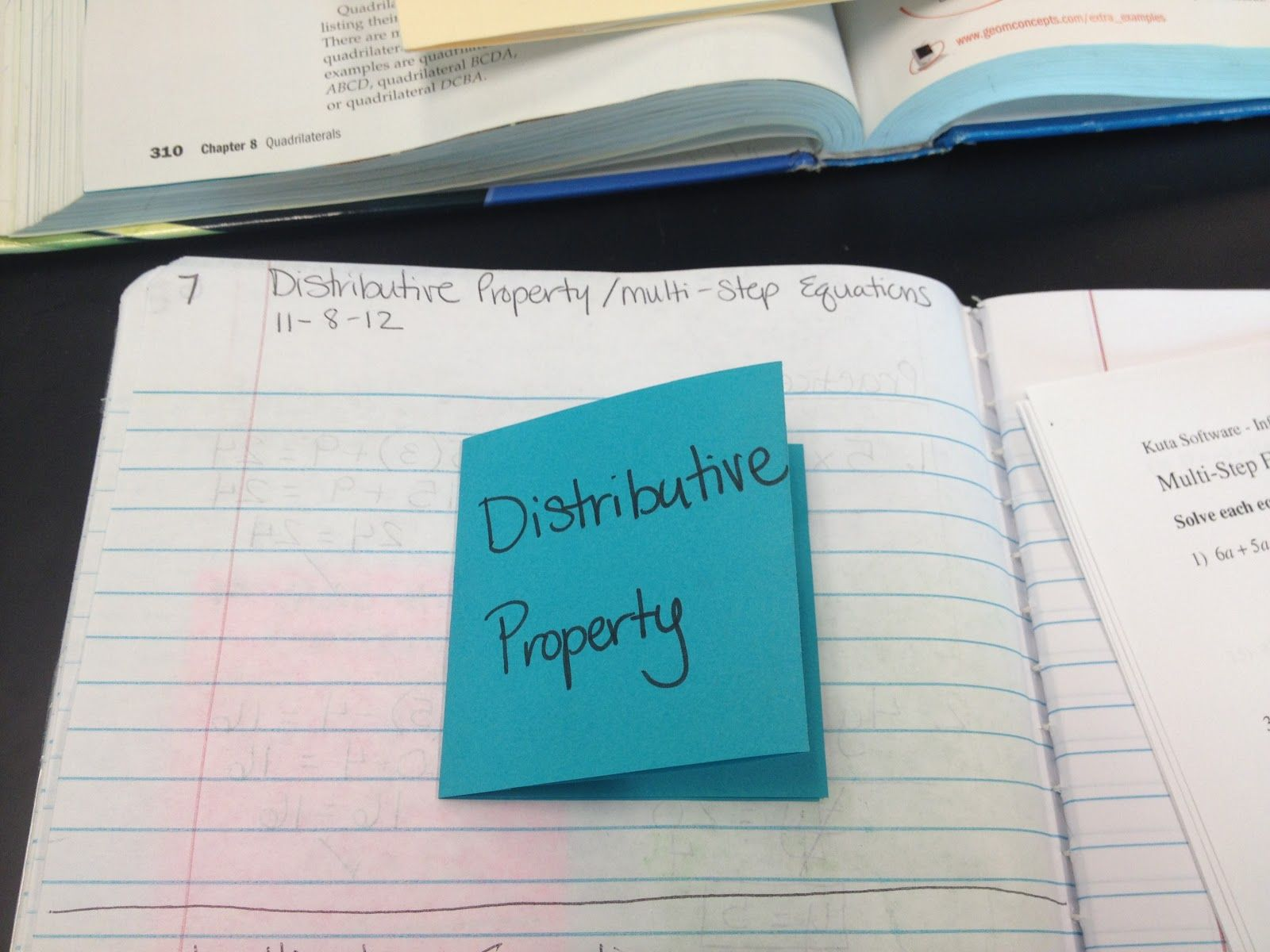Teaching In Special Education Distributive Property