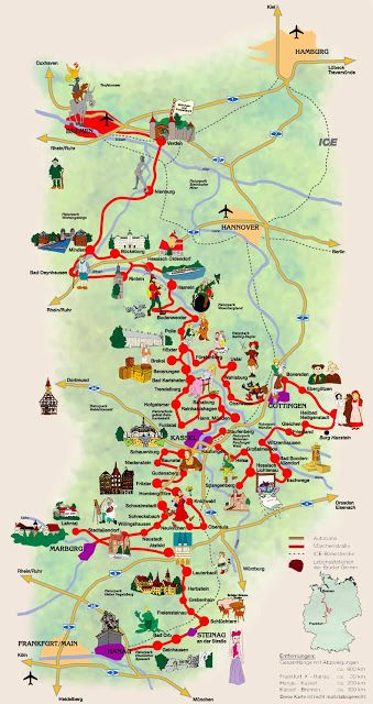 Germany S Fairy Tale Road Visit The Towns Related To The Tales Of The Brothers Grimm This Would Be So So Awesome Trip Germany Travel Germany