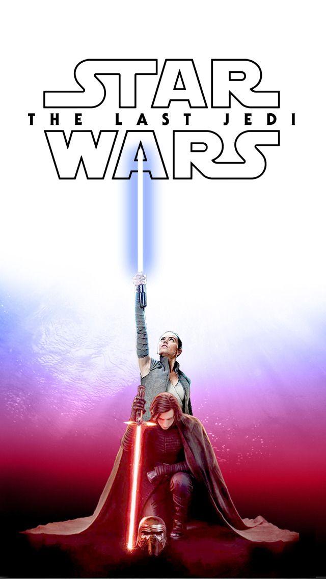 Star Wars Kylo Ren And Rey Iphone Wallpaper