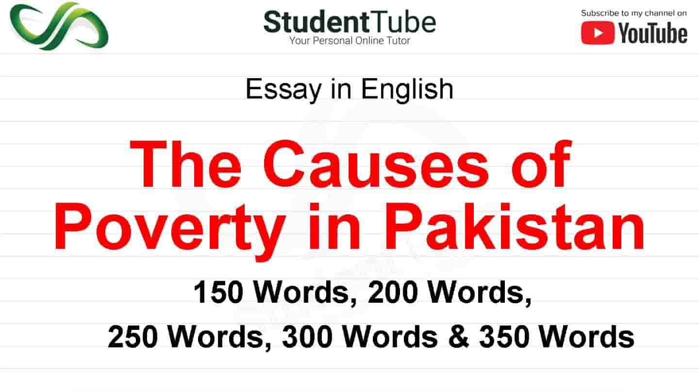 The Cause Of Poverty In Pakistan Essay Math Solutions And Effect On