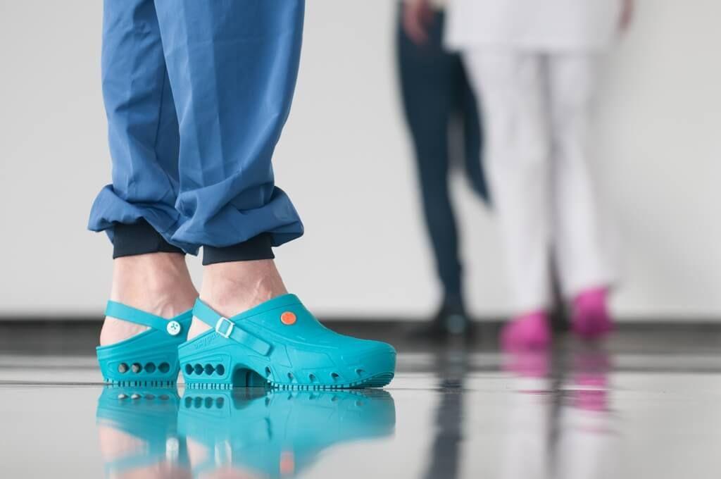 Bloc Sabot De Autoclave Chaussures Oxyclog VertOxypas Médicales lJFK1c