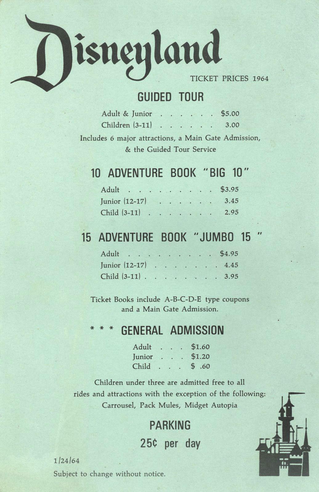 Ralphs Motorbike — yourland: Disneyland ticket stubs