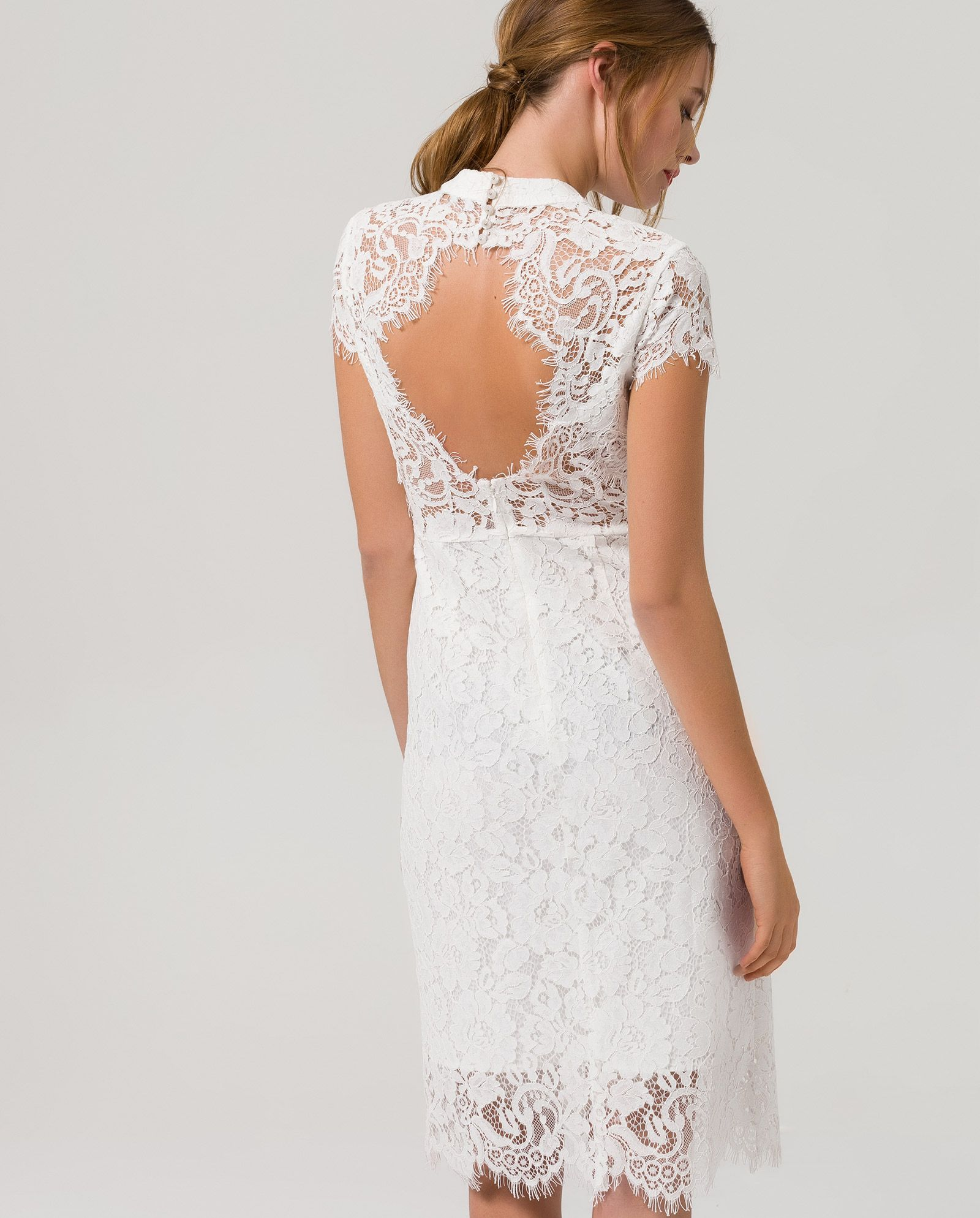 Cocktail Dress Lace - snow white - IVY & OAK | Dress | Pinterest ...