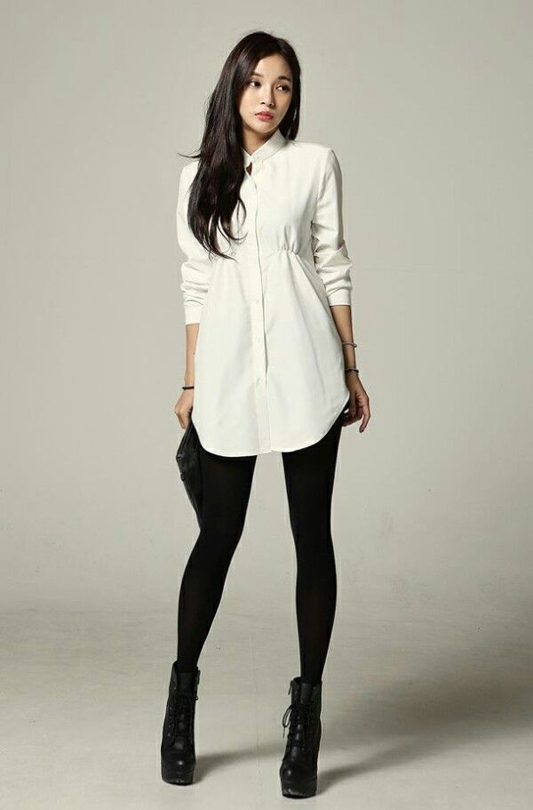 7fab7622242 Tights leggings with shirt dress